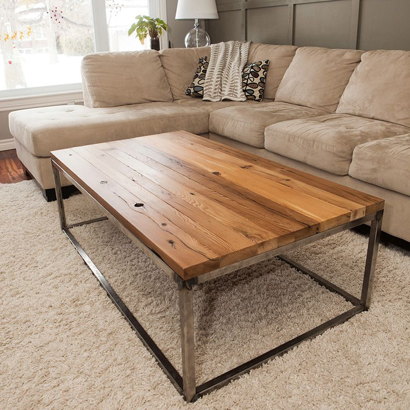 Unique Coffee Tables Furniture: Reclaimed Hemlock Brickmaker Style Table In 2019