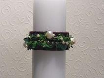 Toller Kerzenschmuck F Kommunionkerze Taufkerze Jewelry Candles