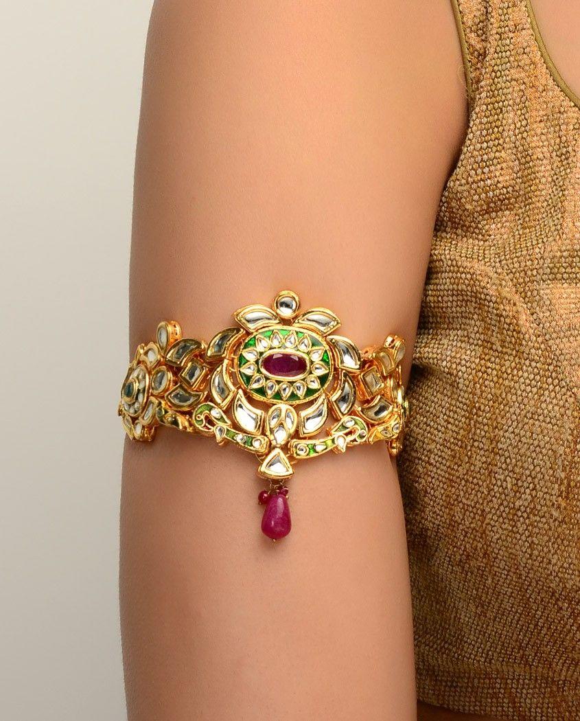 Indian bridal armlet, bajubandh, baju bandh, bajuband, baju band ...