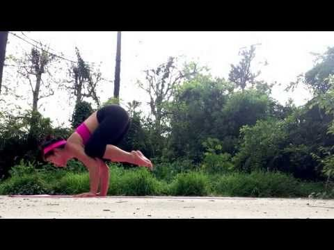 142 crow pose to plank  yoga transition  youtube