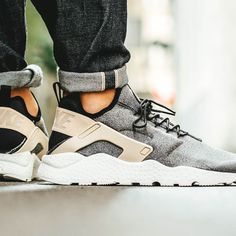 size 40 5a86c a8eab Buy authentic nike air huarache run ultra se black tan white trainer for  cheap sale, with high quality and preferential price and get FREE one pair  of socks ...