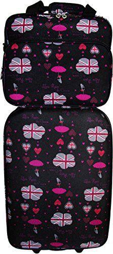 72d9d75cc5 Lot #Valise #cabine #RYANAIR – Vanity LILOU SECRET   Set de bagages