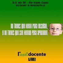 Meet Docente - 29·31 Julio 2014 - Encuentro de maestros... Tienes que venir