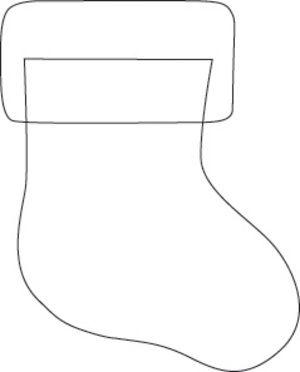 mini felt stocking template  Felt Club Make and Takes-Sweater Surgery ornaments and Mini ...