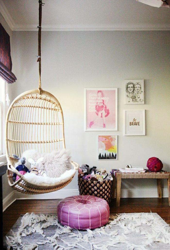 Einrichtungsideen fürs Wohnzimmer in 45 Fotos Egg chair, Nurseries