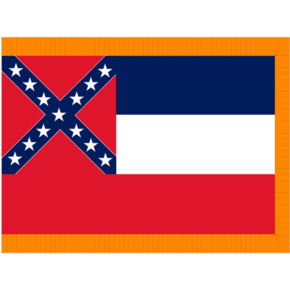Mississippi State Flag 3 X 5 Mississippi State Flag Mississippi
