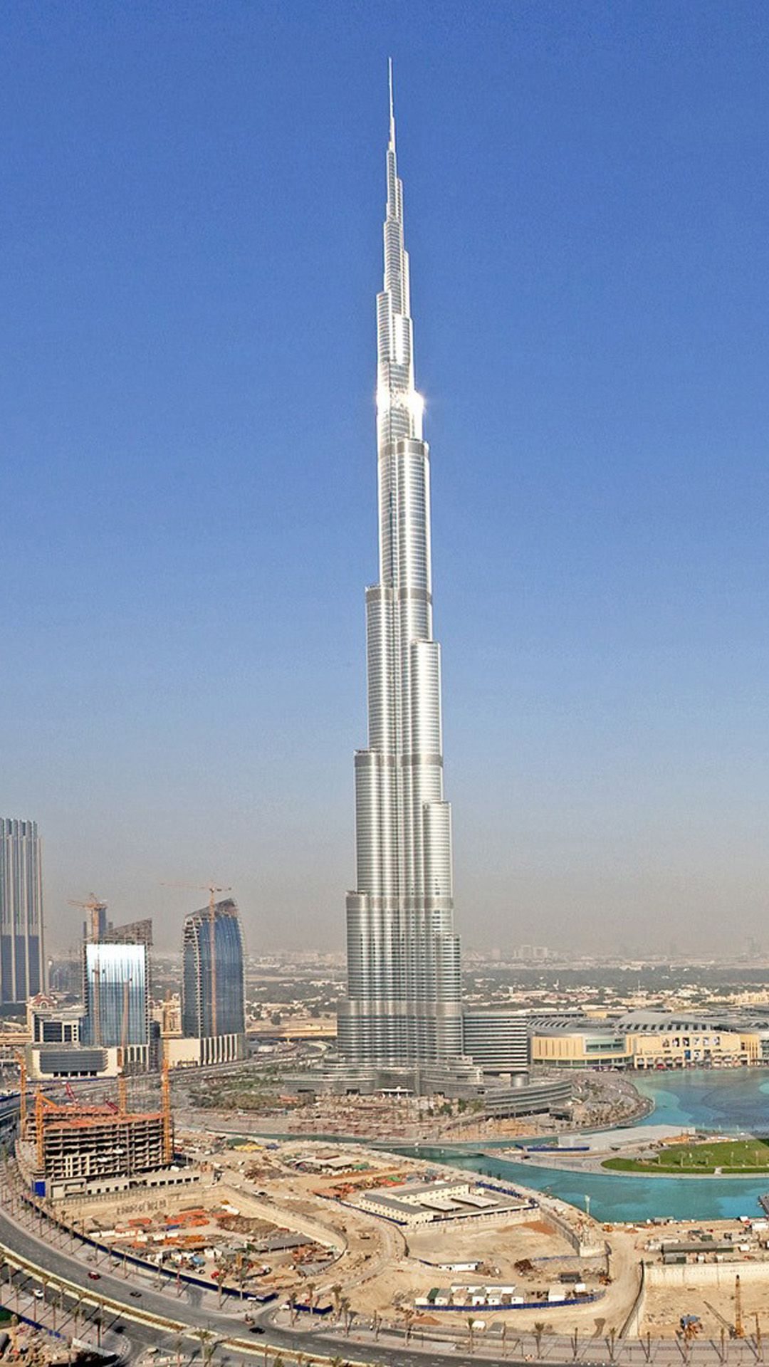 The Worlds Tallest Building In Dubai Burj Khalifa Dubai Building