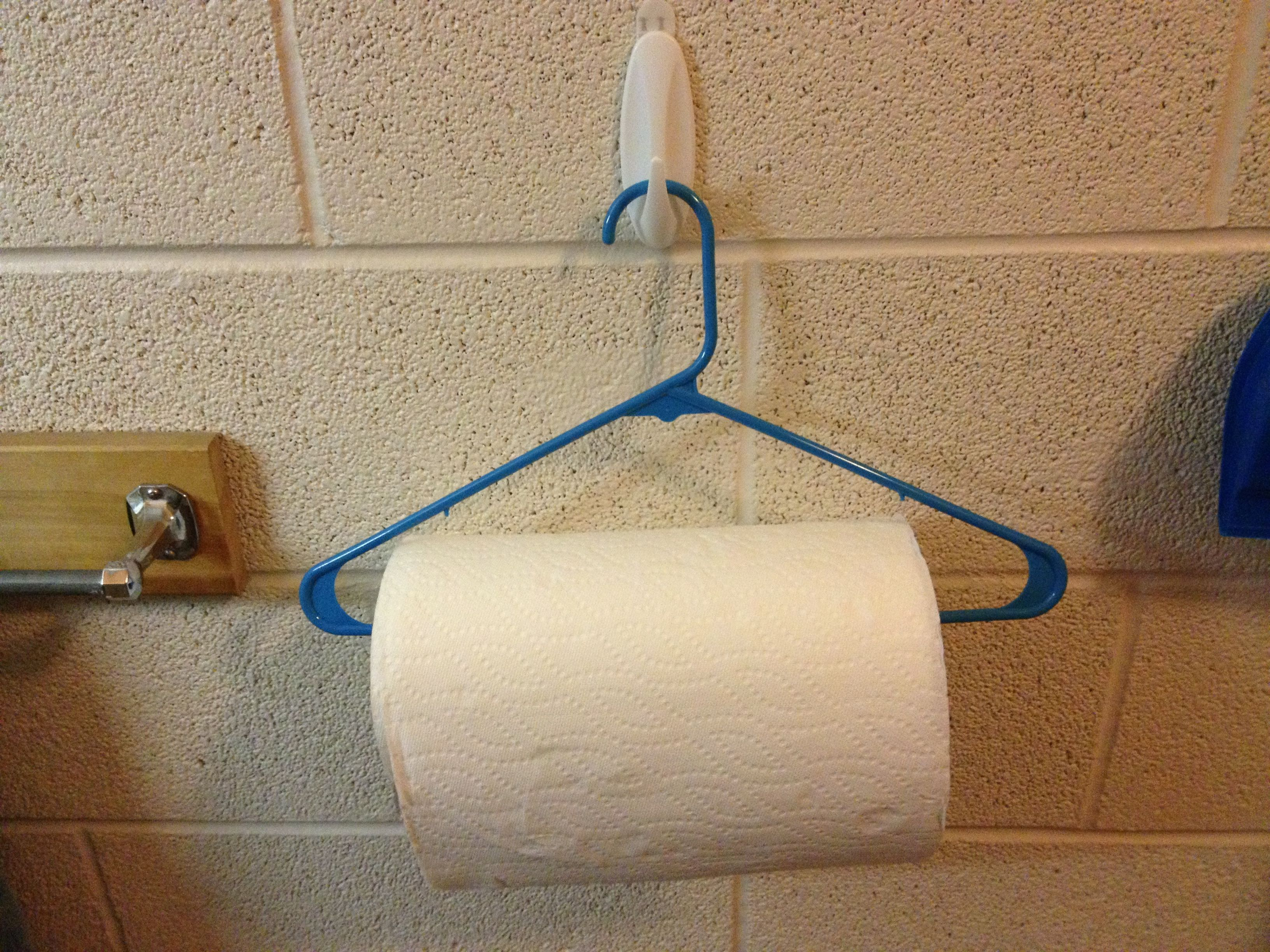 For College Kids Who Dont Have A Paper Towel Holder In Their Dorm -  bathroom paper towel holder