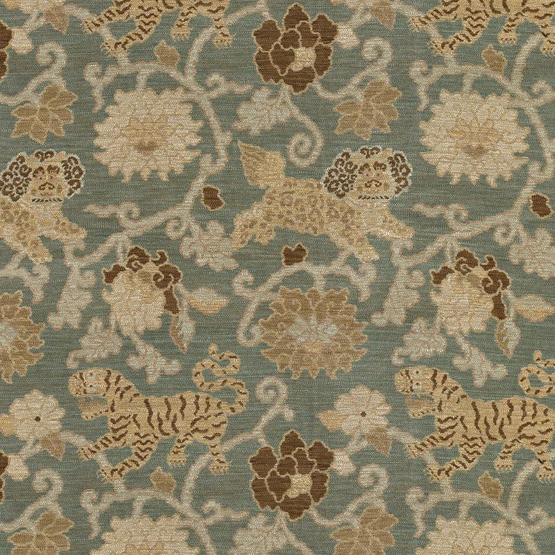 F Schumacher Khotan Weave Mineral 40 Remant Designer Decorator Mesmerizing Designer Decorator Fabric