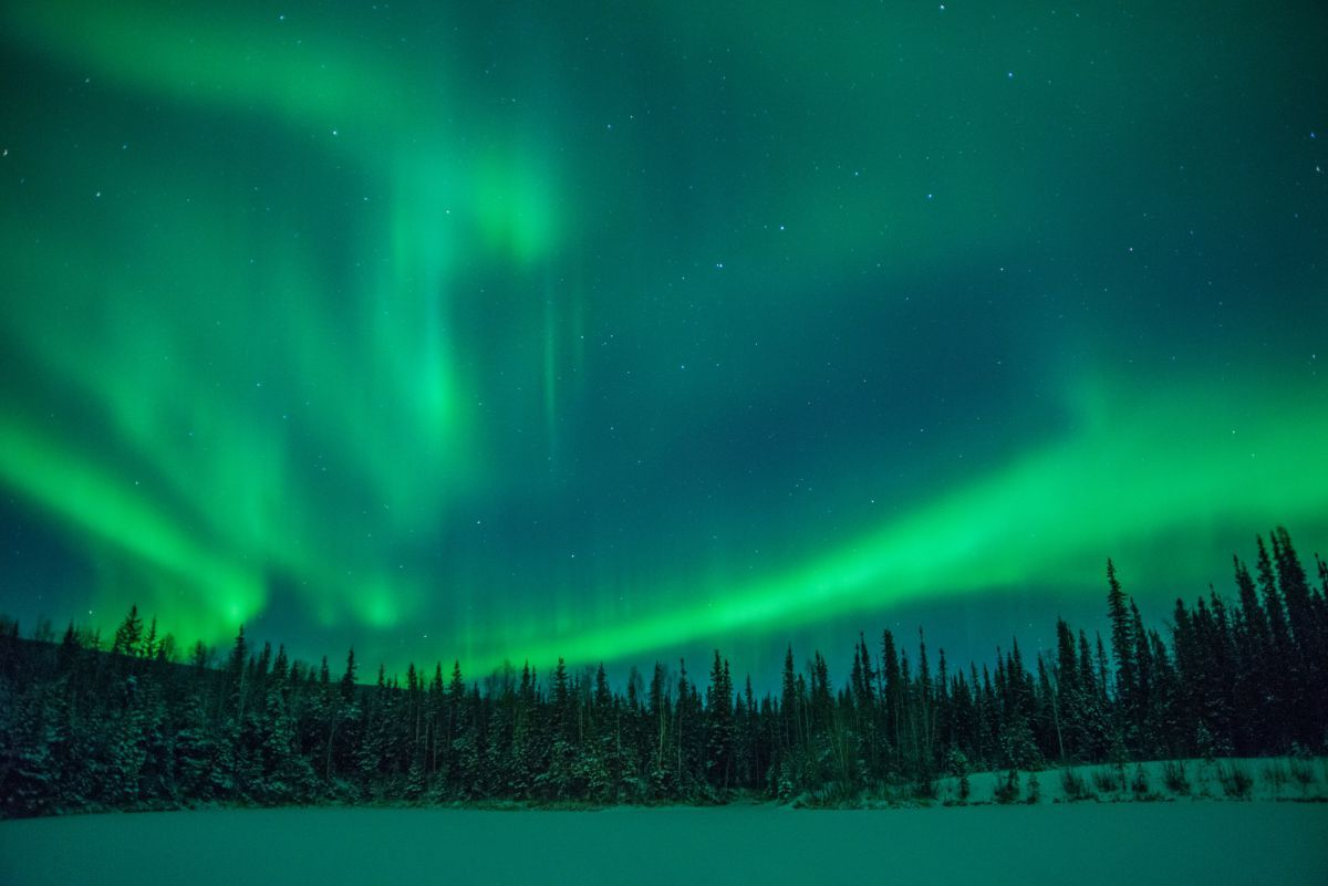 Best Places To See The Northern Lights Fairbanks Ak Chena Hot Springs Resort August May Town Regularly Experiences A Celestial Display Of Green