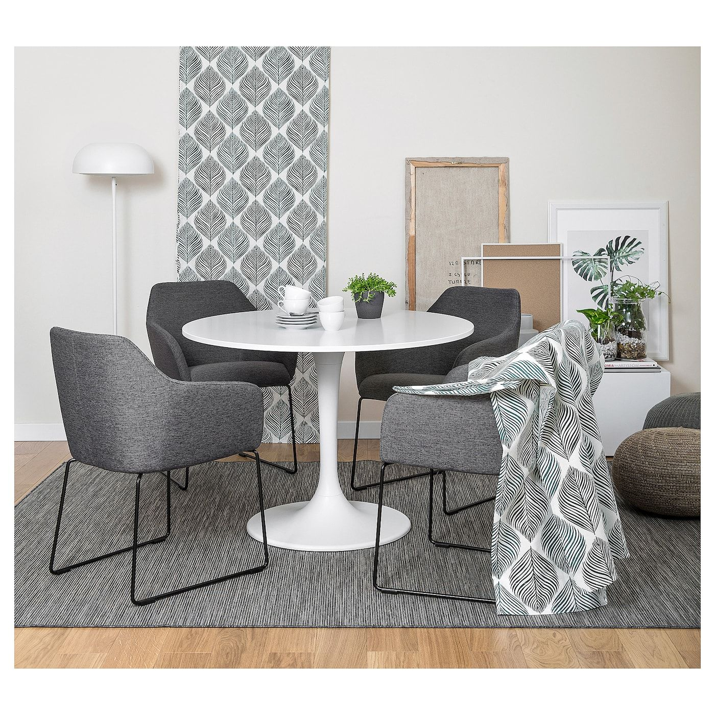 IKEA TOSSBERG Chair metal black, gray in 2020 World