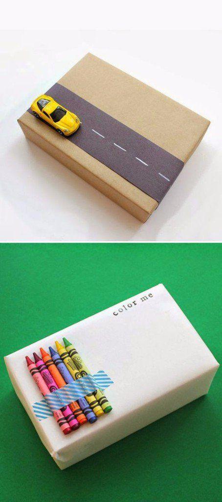 Sencillas y originales envolturas para tus regalos Regalos para - envoltura de regalos originales