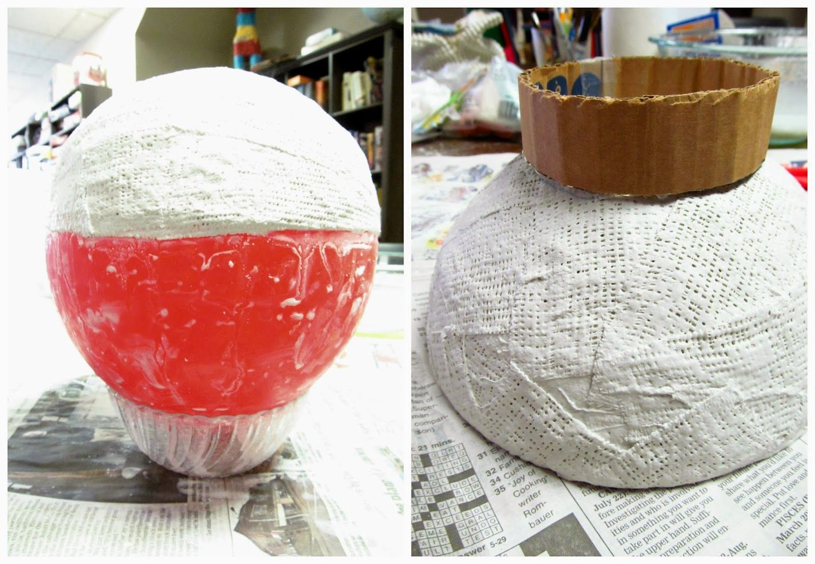 34++ Plaster of paris crafts with balloons information