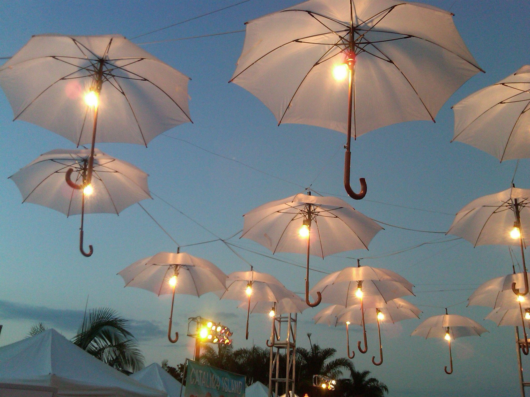 lights jar led lighting umbrella patio id