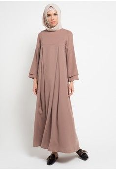 Wanita Baju Muslim Dress Muslim Gamis Urbi Dress Kami Idea
