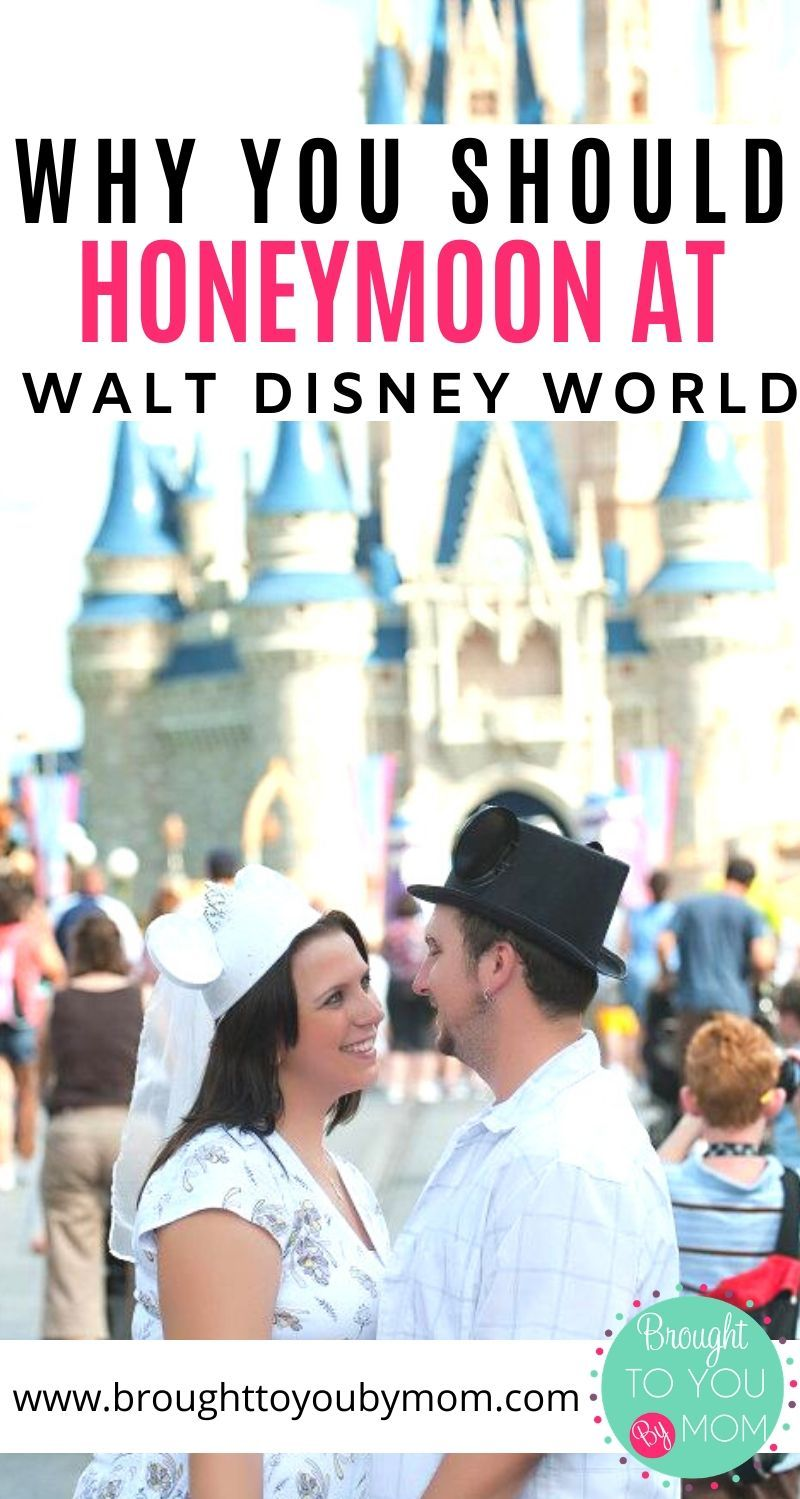 Why You Should Honeymoon at Walt Disney World
