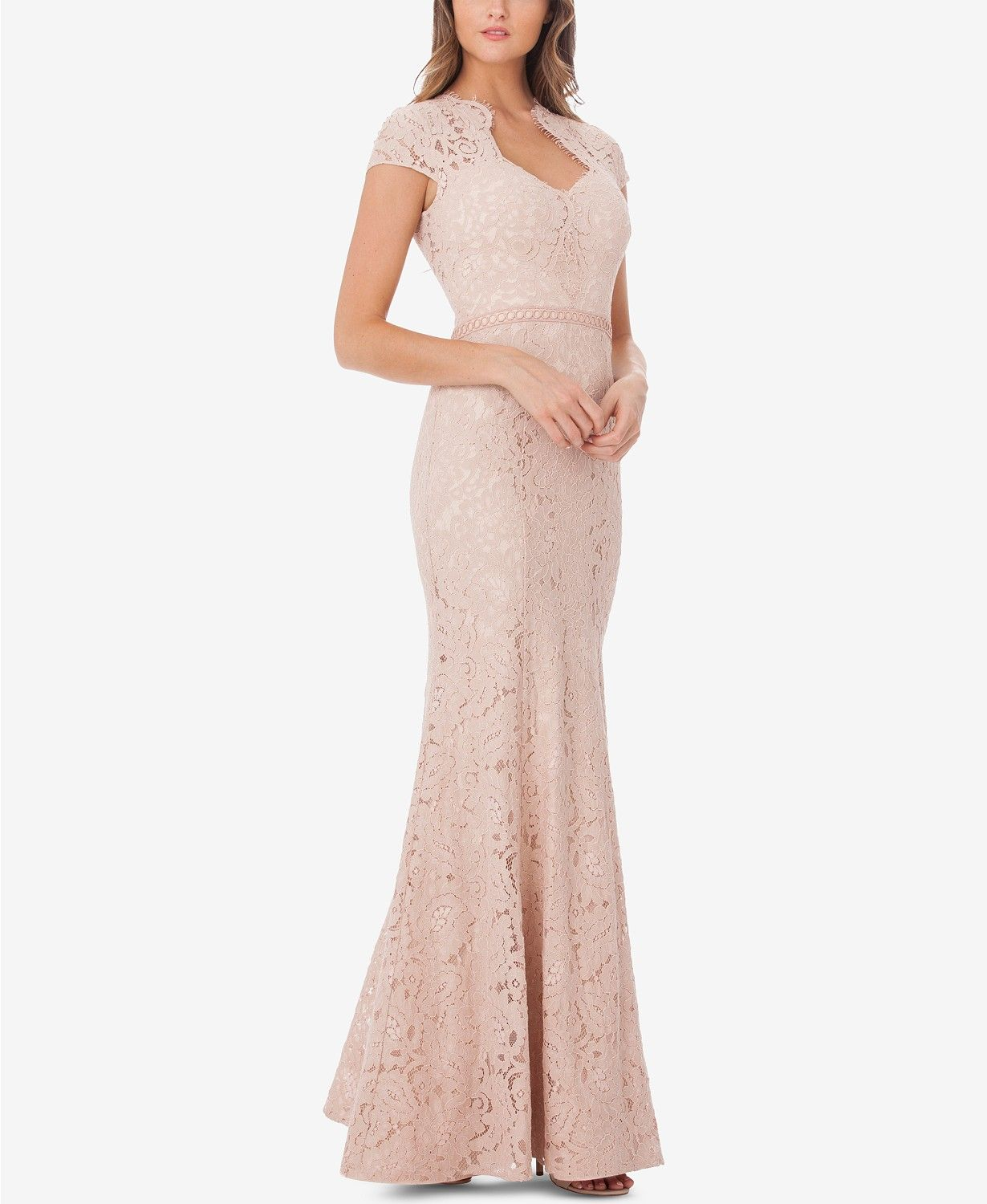 Sweetheart Lace Mermaid Gown Mother Of The Bride Pinterest