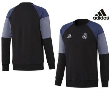 Sudadera negra Real Madrid Adidas 2017 infantil