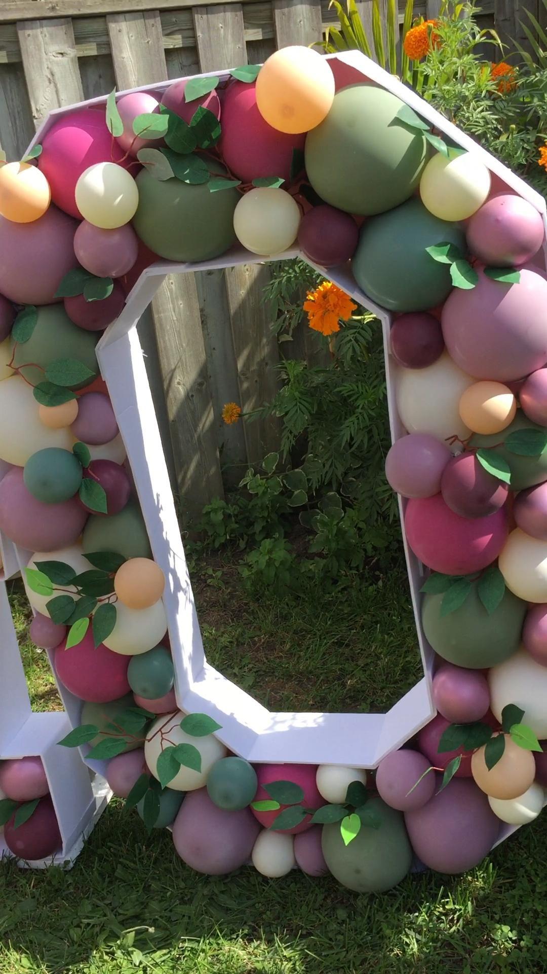 Boho stylish Balloon Decoration
