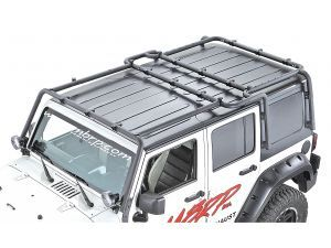 Off Camber Fabrications Jk Roof Rack System With Roof Rack Extension Baskets Are Then Added Onto This Roof Rack Racking System Jeep Wrangler Unlimited