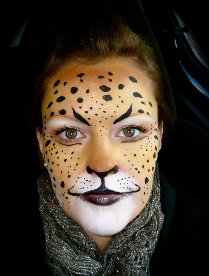 Photo of Leopard face makeup: 56 great ideas! – Archzine.net
