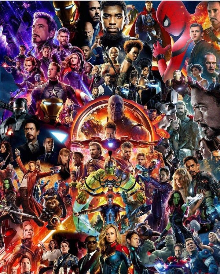 All Mcu Posters In One Frame Marvel Comics Wallpaper Marvel Posters Marvel Wallpaper