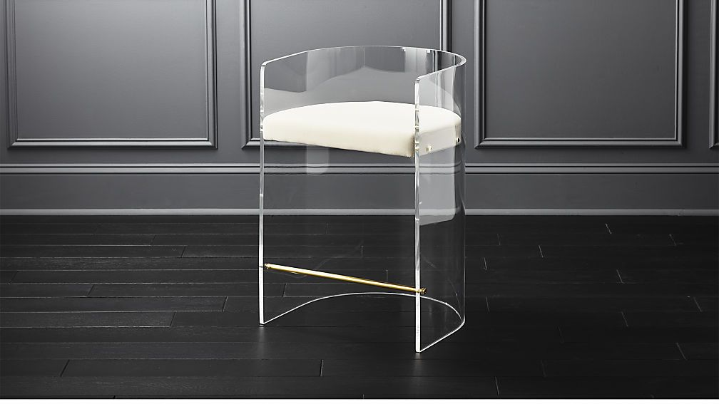 Acrylic Furniture Is All The Rage These Days And We Can See Why This Fabulous Clear Acrylic Bar Stool M With Images Acrylic Bar Stools Clear Bar Stools Modern Bar Stools