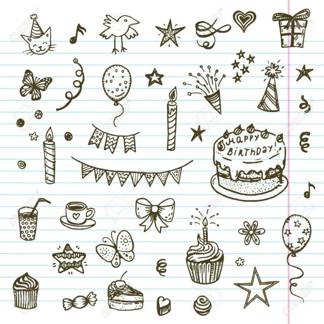 32+ Awesome Image of Birthday Cake Drawing -   13 cake Drawing card ideas
