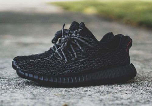 Mens Adidas Yeezy Boost 350 Low Kanye West All Black