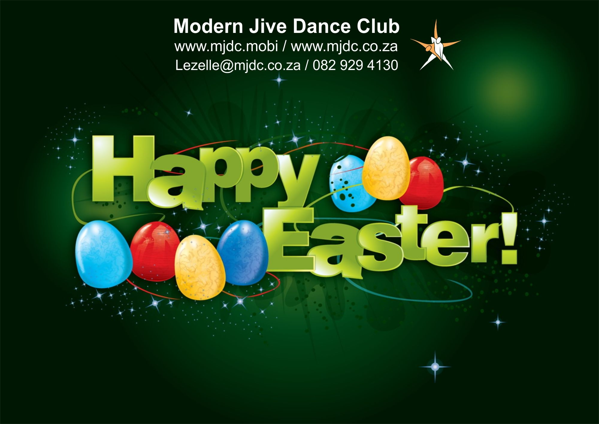 Exciting busy easter weekend for mjdc dj lighting dance make a happy easter gift certificate by filling in your info in the blank happy easter gift certificate template provided negle Images