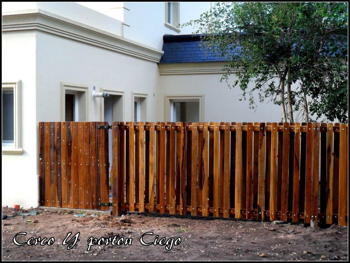 Madera cerco buscar con google agustin pinterest for Casas de madera para patios