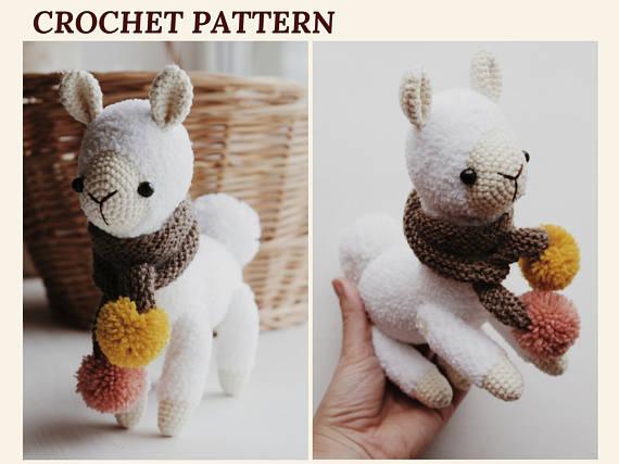 Alpaca Amigurumi Patron Gratis : Alpaca crochet pattern llama amigurumi pattern cuddle toy knit