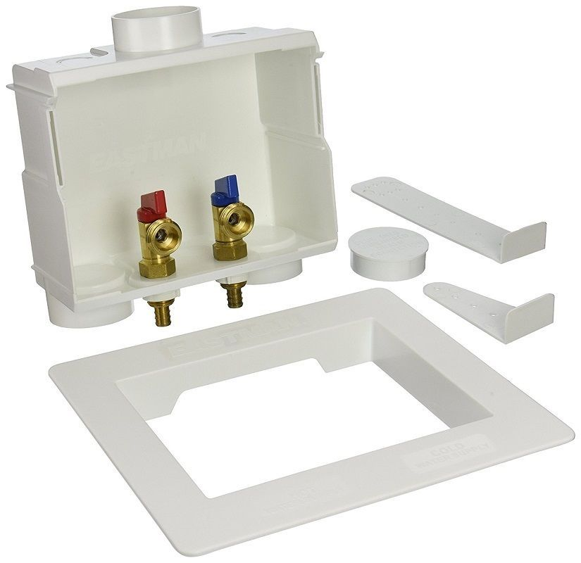 Details About Washing Machine Outlet Box Center Drain 1 2 Inch