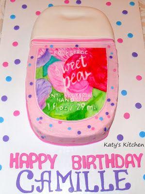 Hand Sanitizer Cake Hand Sanitizer Custom Cakes Cake