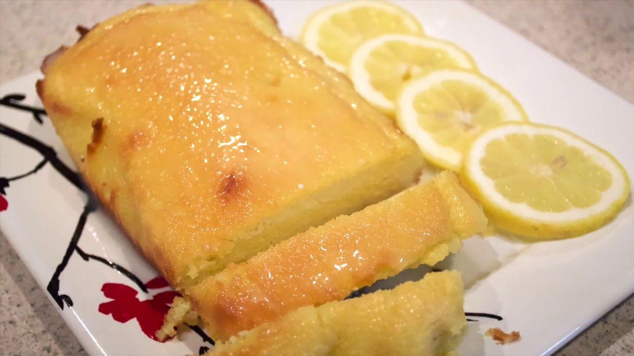 كيك ليمون كيتو مع صوص حلويات كيتو Glazed Keto Lemon Cake Youtube Keto Recipes Recipes Food