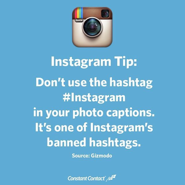 Did you know that Instagram is on the app's list of banned