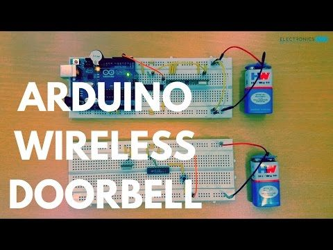 arduino based wireless doorbell ardunio projects arduino circuitstep by step process of how to make wireless doorbell using arduino circuit diagram, required components, code and out video tutorial