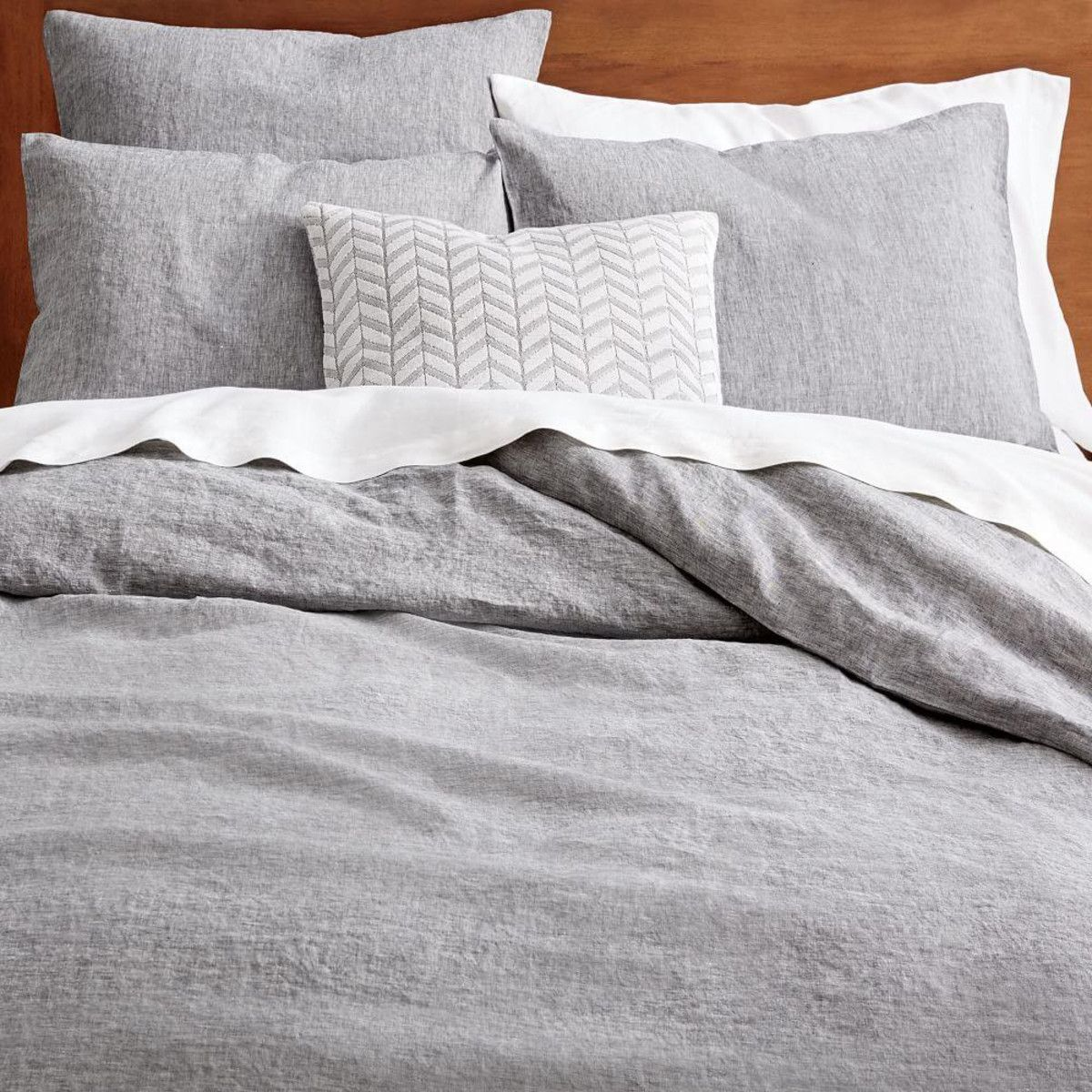 midnight flax belgian duvet cover products z shams linen