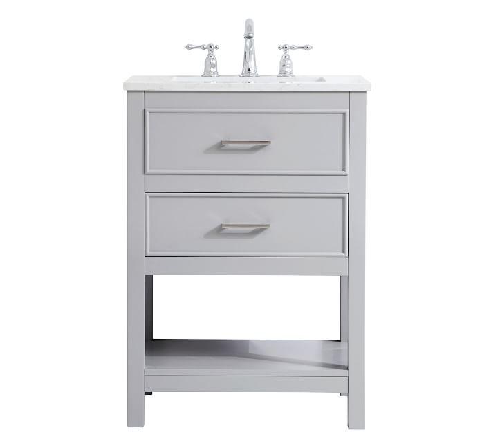 Clemens 24 30 Quot Single Sink Vanity In 2020 Single Sink