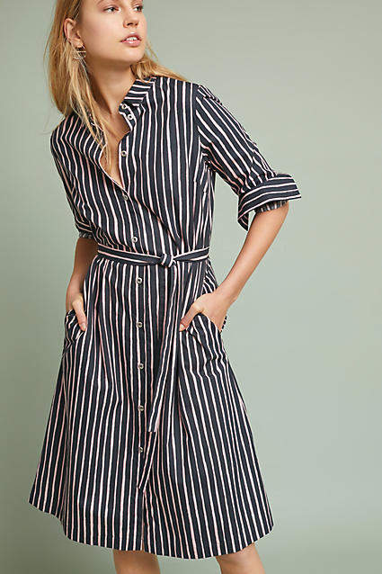 Marimekko Piccolo Striped Shirtdress  ad  AnthroFave  AnthroRegistry  Anthropologie 2f5d1f6fc8