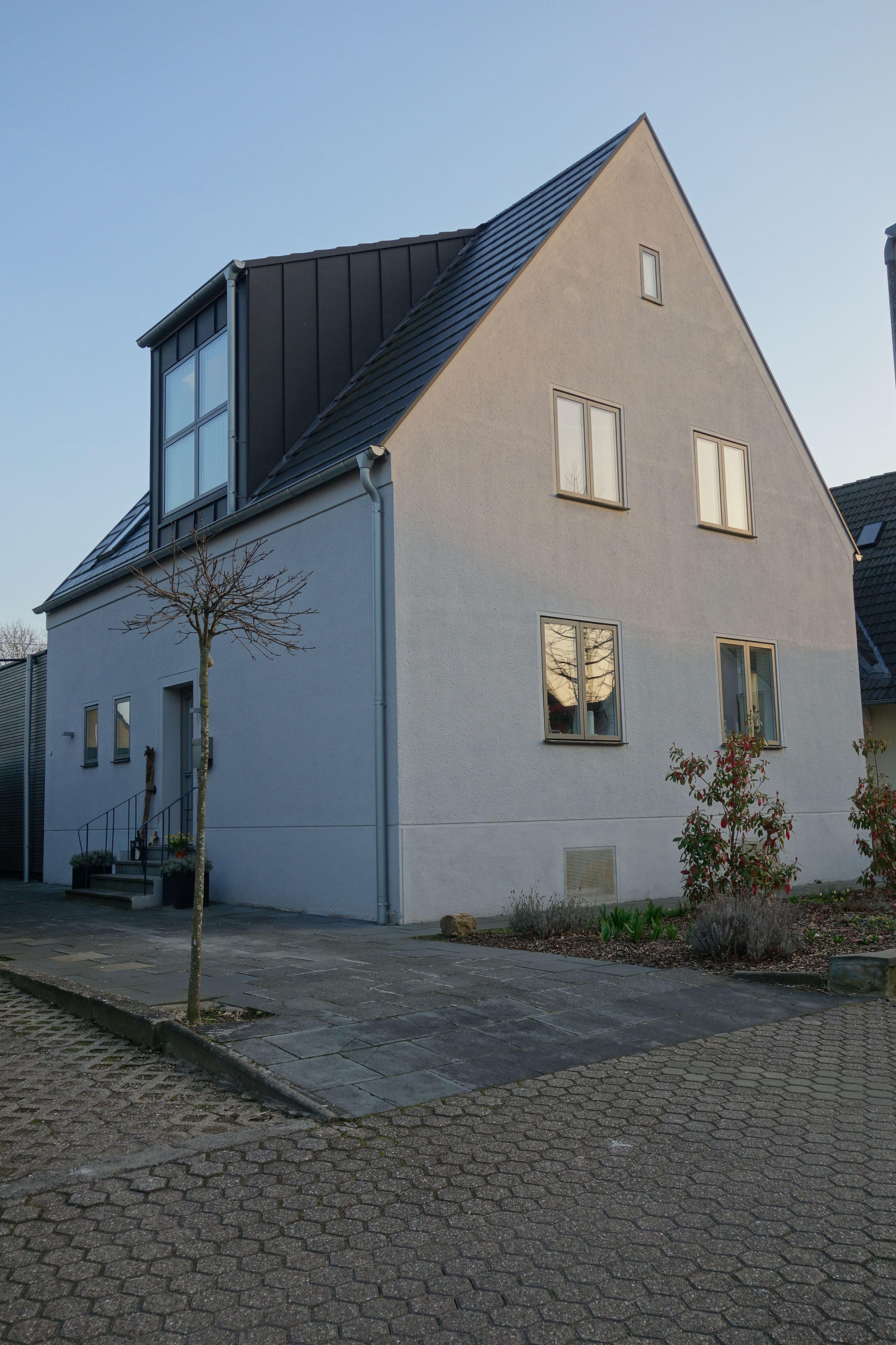 Fenster außenansicht haus  EFH in Hürth nach Umbau #velfac #fenster #bodentiefefenster ...