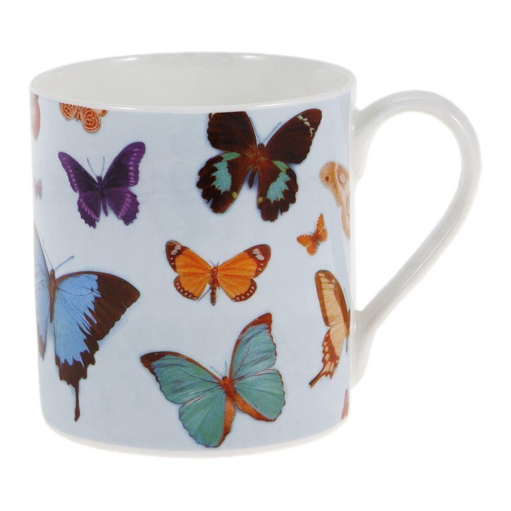 Discover the Ella Doran Bugs & Butterflies Mug at Amara | Beautiful ...