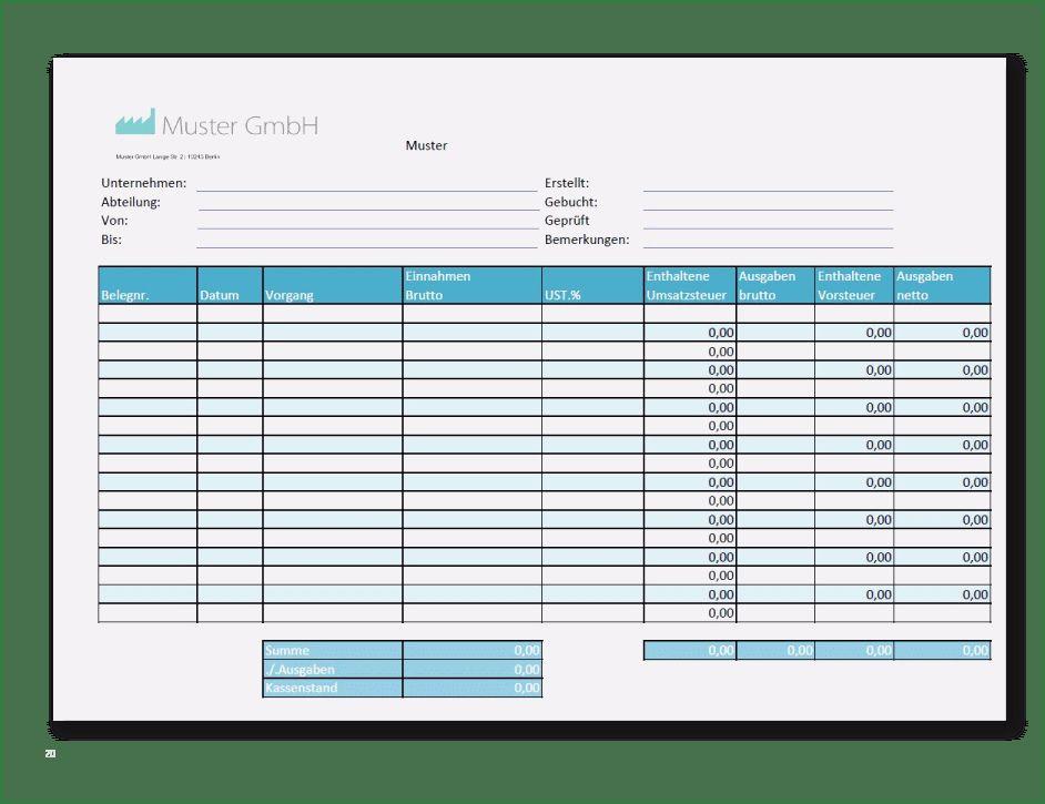 30 Angenehm Kassenzahlprotokoll Excel Vorlage Kostenlos Bilder In 2020 Kassenbuch Excel Vorlage Briefkopf Vorlage