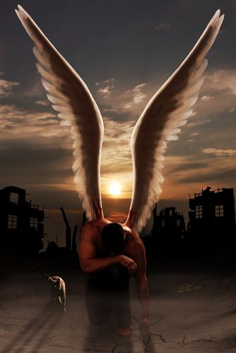 Fallen Angels asking for penance ..........