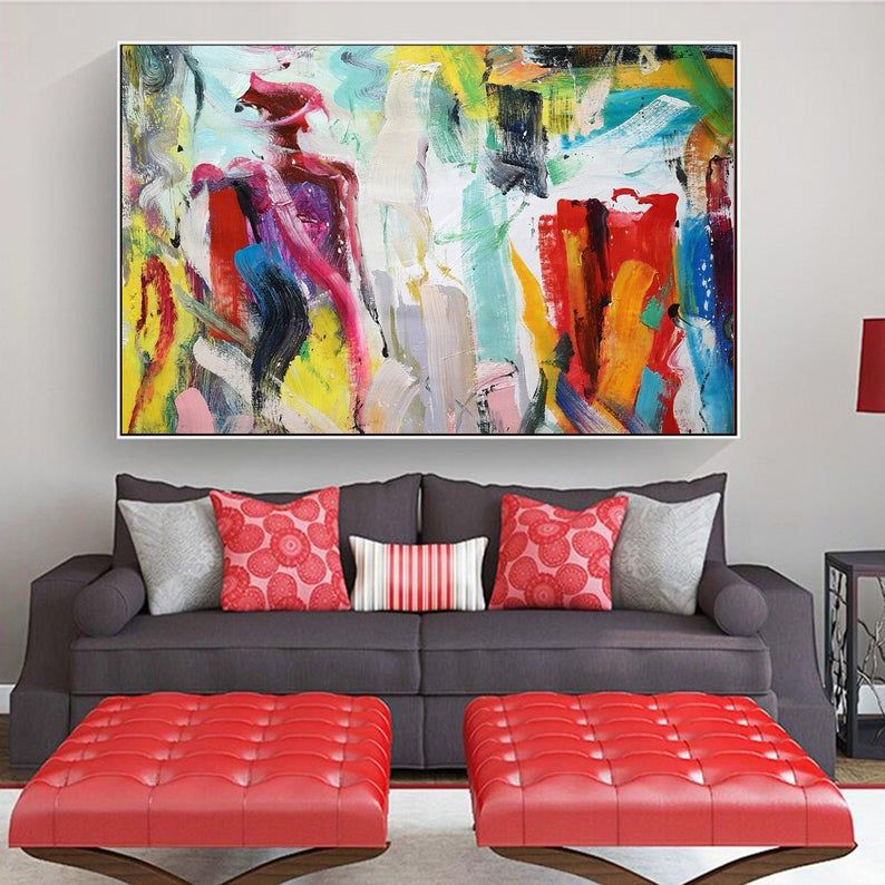 Extra Large Wall Art Original Abstract Painting Xxl Painting