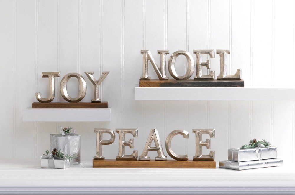 Block letter decor wholesale at koehler home decor with