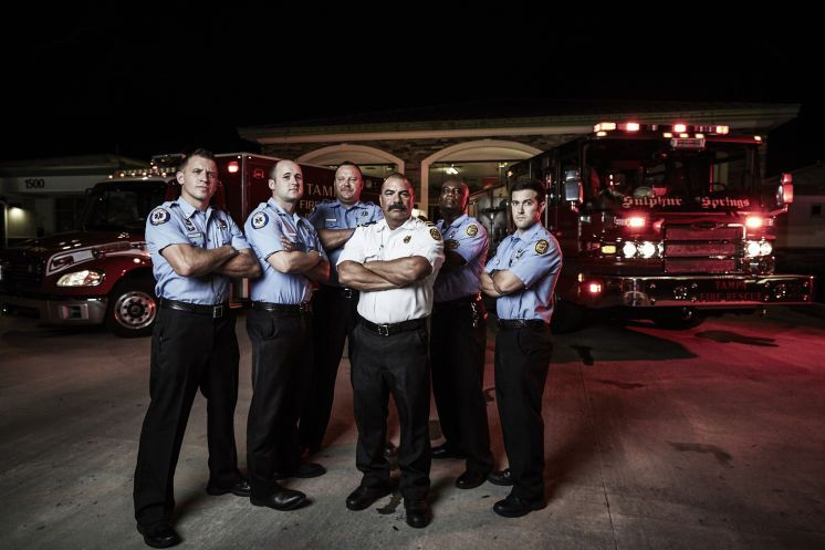 Tampa S First Responder Units Are The Stars Of Season 3 Of The A E Reality Series Nightwatch Which Chronicles The Heroic Wor Fire Rescue Series Premiere Tampa