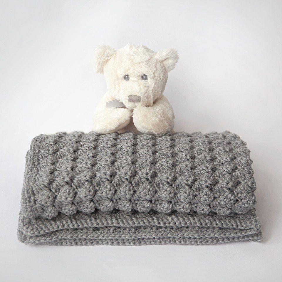 Free Baby Blanket Crochet Pattern | ganchillo | Pinterest ...