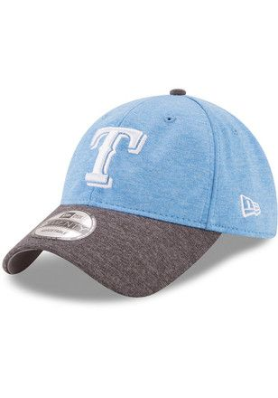 buy online 63f22 0d260 New Era Texas Rangers Mens Grey 2017 Fathers Day 9TWENTY Adjustable Hat