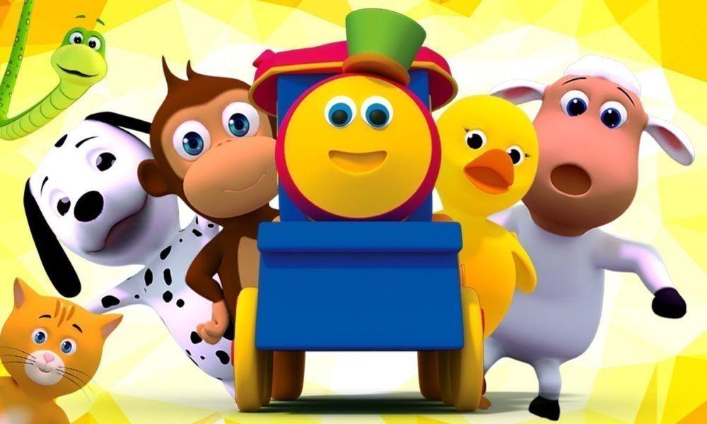 Bob O Trem Rimas De Bercario Para Criancas Videos De Desenhos